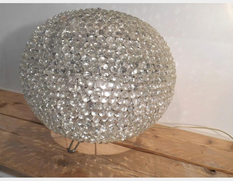 Lampade In Vetro Soffiato : Lampada vetro soffiato trasparente